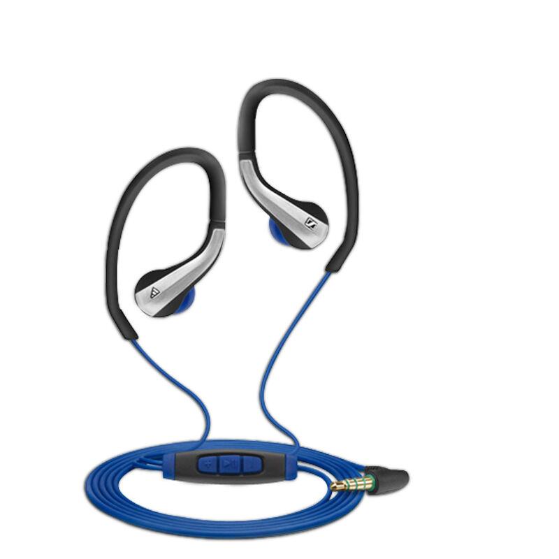 森海塞尔耳挂式耳麦ocx685i black sports 运动耳机 便携线控式麦克风